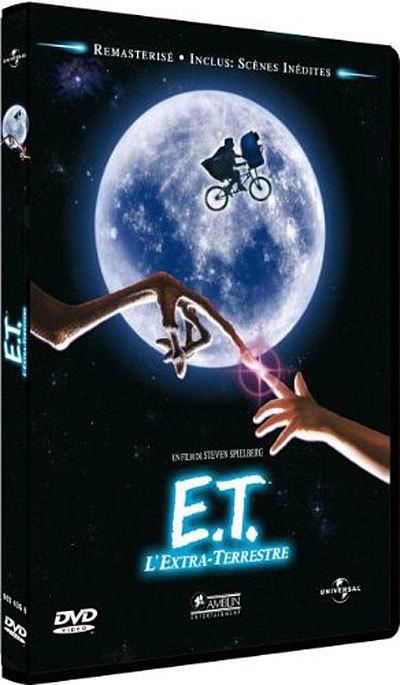 E.T. l'extra-terrestre / un film de Steven Spielberg   Spielberg, Steven. Metteur en scène ou réalisateur
