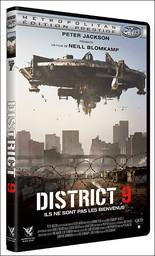 District 9 / un film de Neill Blomkamp   Blomkamp, Neill. Metteur en scène ou réalisateur