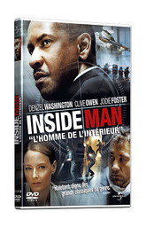 Inside man : l'homme de l'intérieur / un film de Spike Lee   Lee, Spike (1957-....). Metteur en scène ou réalisateur