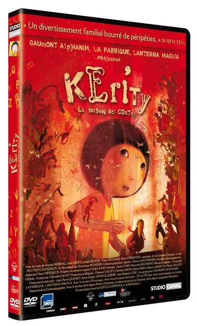 Kerity, la maison des contes / un film d'animation de Dominique Monféry   Monfery, Dominique. Metteur en scène ou réalisateur