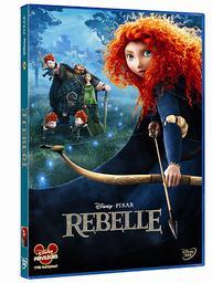 Rebelle / un film d'animation de Mark Andrews, Brenda Chapman, Steve Purcell des studios Pixar (Disney)   Andrews, Mark. Metteur en scène ou réalisateur