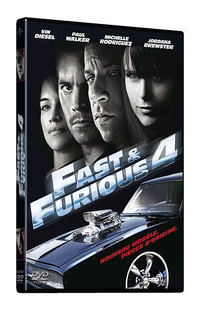 Fast & [and] Furious 4 / un film de Justin Lin   Lin, Justin. Metteur en scène ou réalisateur