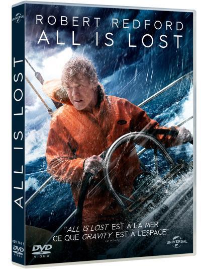 All is lost / un film de J.C. Chandor   Chandor, J.C.. Metteur en scène ou réalisateur