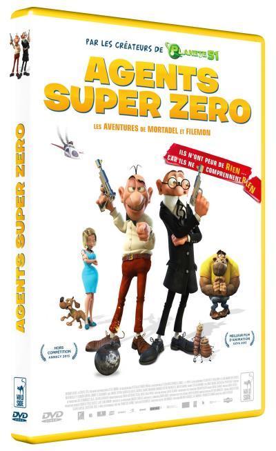 Agents super zéro : les aventures de Mortadel et Filémon / un film d'animation de Javier Fesser | Fesser, Javier. Metteur en scène ou réalisateur