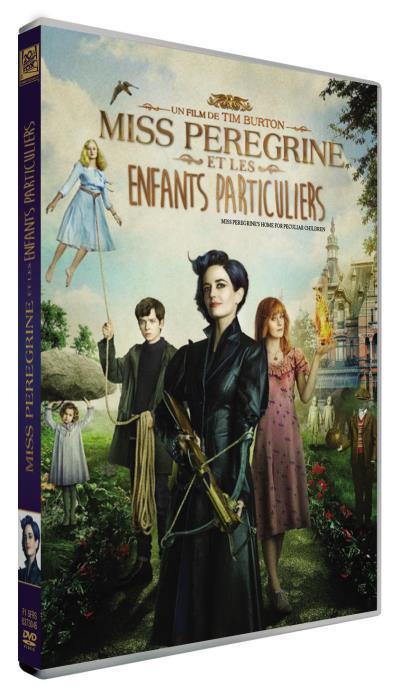 Miss Peregrine et les enfants particuliers / un film de Tim Burton | Burton, Tim (1958-....). Metteur en scène ou réalisateur