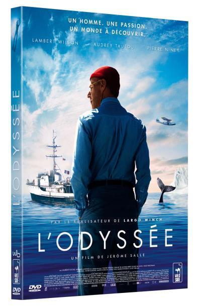 L' Odyssée / un film de Jérôme Salle   Salle, Jérôme (0000-....). Metteur en scène ou réalisateur. Scénariste