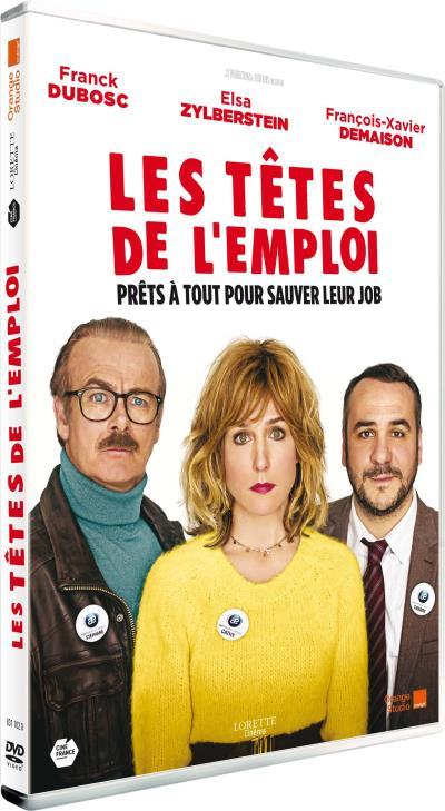 Les Têtes de l'emploi / un film d'Alexandre Charlot et Franck Magnier   Charlot, Alexandre. Metteur en scène ou réalisateur