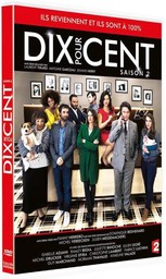 Dix pour cent [10 %] - Saison 2 / une série télé créée par Fanny Herrero   Herrero, Fanny. Metteur en scène ou réalisateur