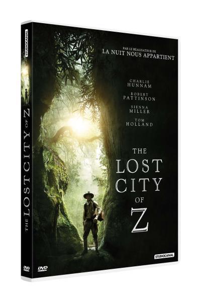 Lost city of Z (The) / un film de James Gray   Gray, James. Metteur en scène ou réalisateur. Scénariste