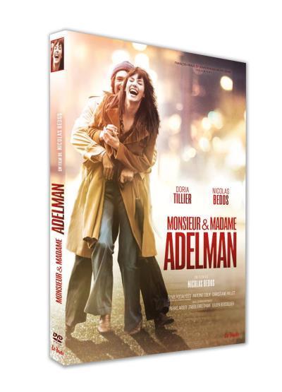 Monsieur et Madame Adelman / un film de Nicolas Bedos | Bedos, Nicolas. Metteur en scène ou réalisateur. Acteur