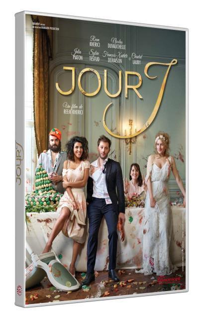 Jour J / un film de Reem Kherici   Kherici, Reem. Metteur en scène ou réalisateur. Acteur. Scénariste