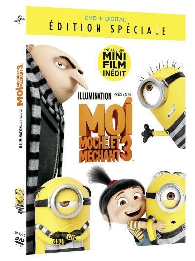 Moi, moche et méchant 3 / un film d'animation de Pierre Coffin, Kyle Balda, Eric Guillon   Coffin, Pierre (1967-....). Metteur en scène ou réalisateur