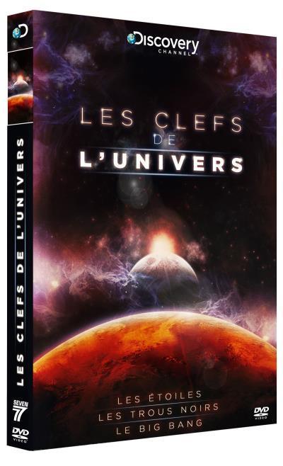 Clefs [clés] de l'univers (Les) : les étoiles ; les trous noirs ; le Big Bang / 3 films réalisés par Peter Chinn et Louise V. Say   Chinn, Peter. Metteur en scène ou réalisateur