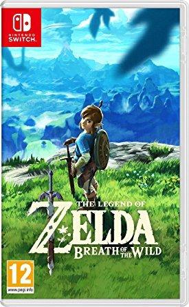 The Legend of Zelda - Breath of the Wild - Switch  |