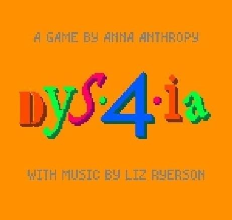 Dys4ia-PC : Jeu vidéo en ligne = PC  