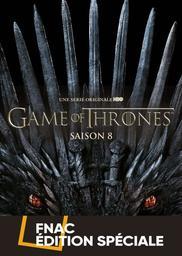 Game of thrones, saison 8 [fin] : le Trône de fer / une série télé créée par David Benioff et D.B. Weiss   Benioff, David. Auteur