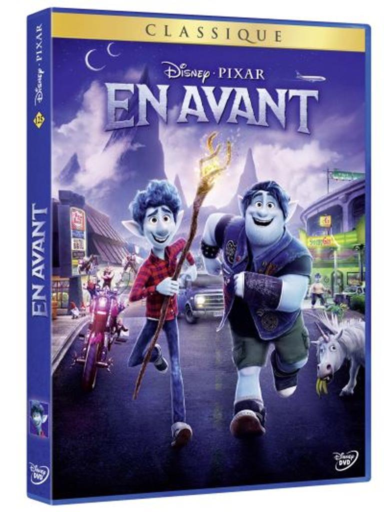 En avant / un film d'animation de Dan Scanlon des studios Disney et Pixar |