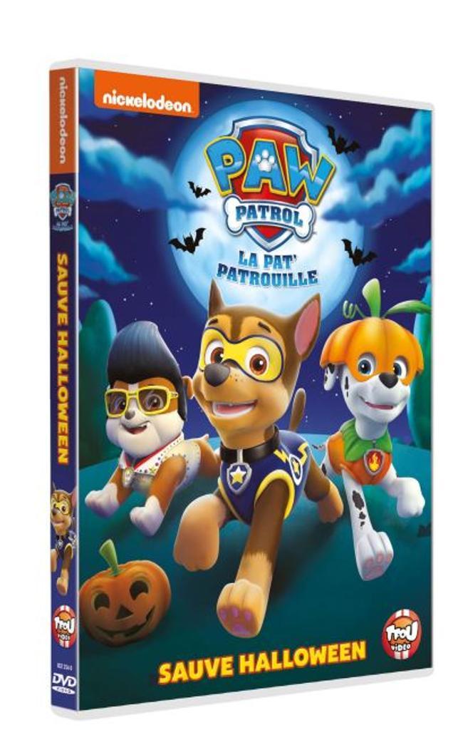 La Pat' Patrouille sauve Halloween = Paw Patrol / une série de films d'animation créée par Keith Chapman |